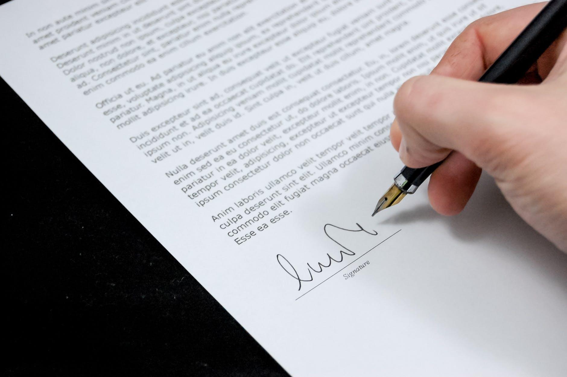 La signature électronique du contrat de travail